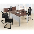 Pacifica Four Piece L-Desk Office Set, 86454