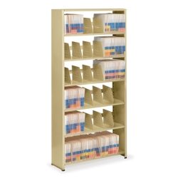 "Single-Entry Open Shelving Starter Unit 48""W x 12""D, 31982"
