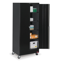 "36""W x 18""D x 85""H Mobile Storage Cabinet, 31735"