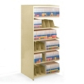 "36""W x 24""D Add-On Double Entry Open Shelving Unit, 31989"