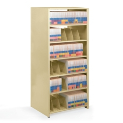 "Double-Entry Open Shelving Starter Unit 48""W x 24""D, 31985"