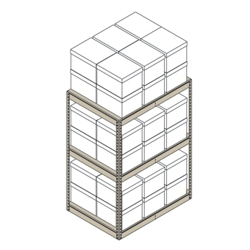 "Heavy-Duty Shelving Unit - 42""W x 30""D x 60""H, 31397"