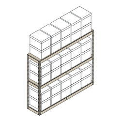 "Heavy-Duty Shelving Unit - 69""W x 15""D x 60""H, 31398"