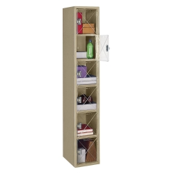 Six Tier Locker with See-Thru Doors, 31531