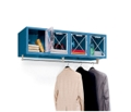 Wall Mount 4 Person Locker, 31534
