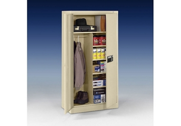 "Keypad Lock Storage and Wardrobe Cabinet - 72"" H, 36772"
