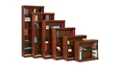 """Traditional Bookcase with Reinforced Shelves - 60""""H, 32097"""