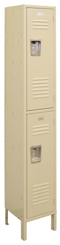 "Two-Tier Locker - 15""W x 18""D x 78""H, 36876"