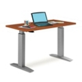 "Trendway 60""W Standing Height Table with Pneumatic Lift, 41568"
