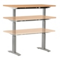 "Adjustable Height Table with Electric Lift - 60"" x 24"", 41571"