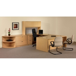 U-Desk Complete Office Set, 86151