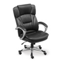 Omega Faux Leather Executive Chair, 50821