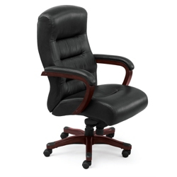 Vista Leather Executive Chair, 50834
