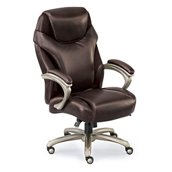 Avanti Leather with Mesh Big and Tall Chair, 56015