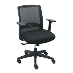 Set of 8 C2 Mesh Back Chairs with Memory Foam, 56943