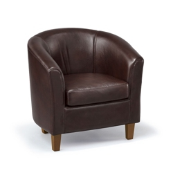 Chicago Faux Leather Club Chair, 75764