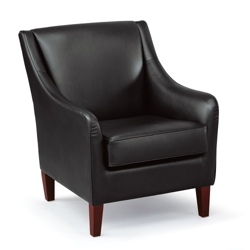 Charleston Faux Leather Club Chair, 75765