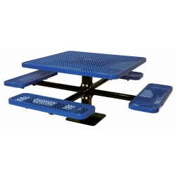"46"" Square Surface Mount Outdoor Table, 91375"