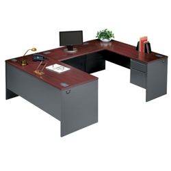 Steel U-Desk with Right Return, 11237
