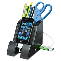 Pencil Holder with Phone Charging Station, 92002