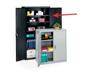 """Steel Storage Cabinet - 72""""H, 31330"""