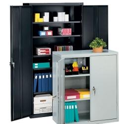 """Steel Storage Cabinet - 72""""H, 31329"""
