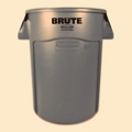 Vented Trash Receptacle - 44 Gallon Capacity, 85929