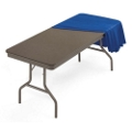 "Lightweight Rectangular Folding Table - 96"" x 30"", 41166"
