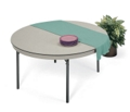"Lightweight Round Folding Table - 60"" Diameter, 41167"