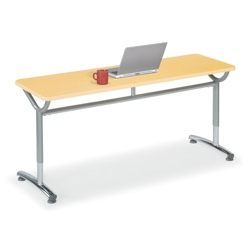 "Adjustable-Height Training Table 60""W x 24""D, 41428"