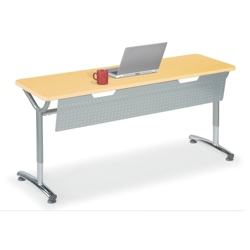 "Adjustable-Height Training Table with Modesty Panel 48""W x 24""D, 41433"