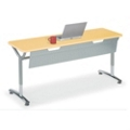 "Adjustable-Height Training Table with Modesty Panel 48""W x 20""D, 41430"