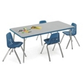 "Child-Height Activity Table 72"" x 30"", 46334"