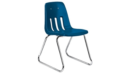 "Sled Base Stack Chair 12"" High, 51604"