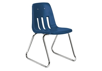 "Sled Base Stack Chair 14"" High, 51605"