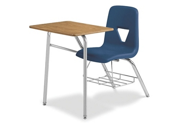 """Chair Desk Combo with Bookrack - 24""""W x 34""""D, 220065"""
