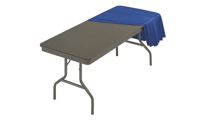 "Folding Table in ABS Plastic 36"" Wide x 96"" Long, 46788"