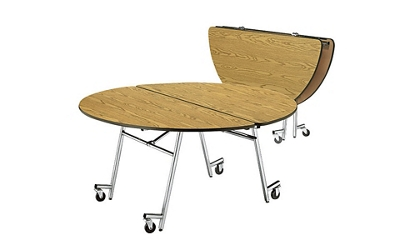 "Round Mobile Folding Table- 60""Dia, 41388"