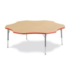 "60"" Flower-Shaped Activity Table, 46339"