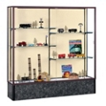 "72"" Wide Unlighted Floor Display Case, 31580"