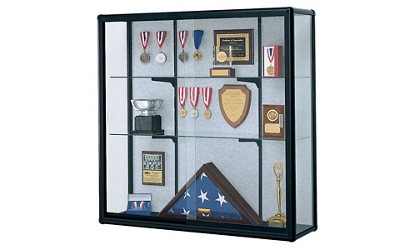 "Wall-Mount Display Case 48"" Wide x 48"" High, 14825"