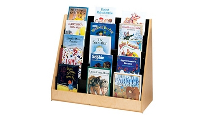 Double Sided Book Display Stand, 33422