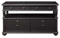 "54""W  Office Media Console with File, 30912"