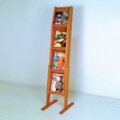 Literature Rack with 8 Pockets, 33190