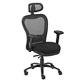 Performa Collection Big and Tall Mesh Chair with Headrest - Fabric, 50021