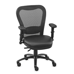 Performa Collection Big and Tall Mesh Chair - Polyurethane, 50022