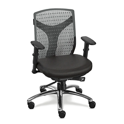 Vector Conference Chair with Fabric Seat, 52404