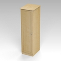 "One Door Wardrobe Cabinet - 72""H , 26566"