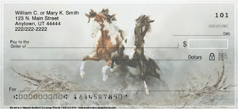 Moments of Majesty Horse Personal Checks
