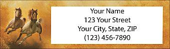 Moments of Majesty Return Address Label